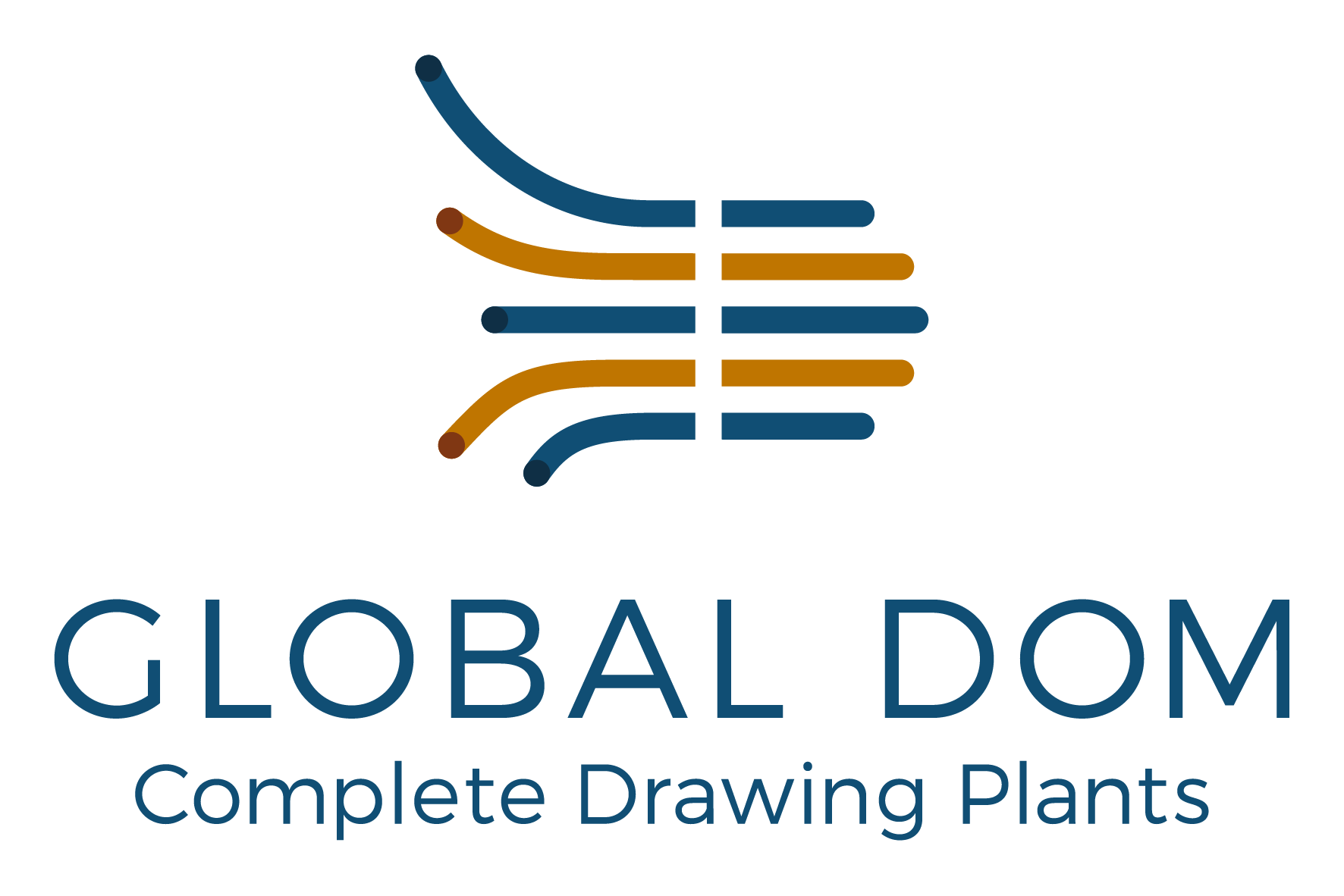 Global dom - complete drawing plants